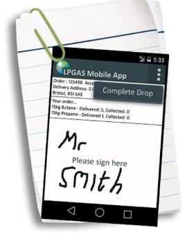 LPGAS Mobile App