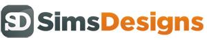 Sims Designs - Website designers