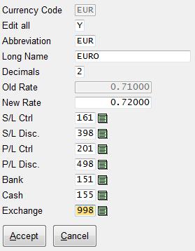 Exchange Rate Screenshot